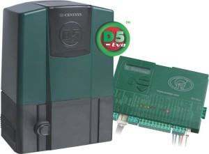 normal-D5-Evo-with-controller sliding gate opener